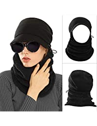 AblerV Balaclava Winter Hat Scarf Windproof Ski Mask Warmer Protective Cap