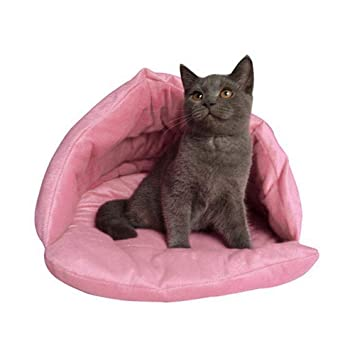 FOONEE Camas para Gatos, Saco de Dormir para Gatos, Suave y cálido, para