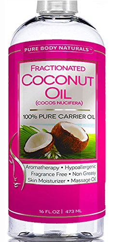 photo Wallpaper of Pure Body Naturals-Premium Fractionated Coconut Oil 16 Oz  -