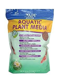 Api pond aquatic plant media potting soil for for Pond plant supplies