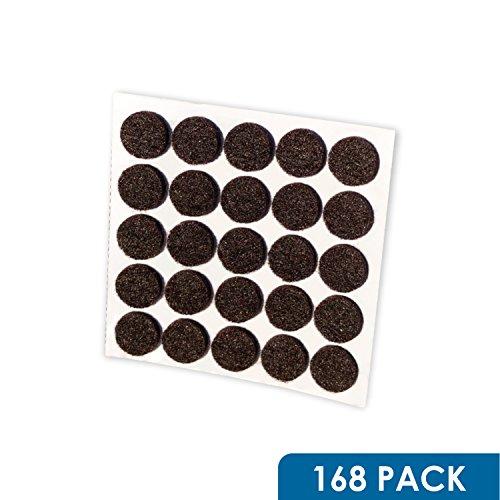 Felt Dots (Rok Hardware Heavy Duty Self-Adhesive Felt Pad Bumpers, 3/8