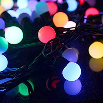 10 Metre RGB Colour Changing LED Fairy Lights with Decorative ...