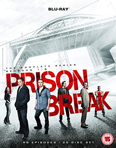 Prison Break: The Complete Series - Seasons 1-5 [Blu-ray] [Region - Break 3 Prison