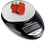: Ozeri Pro Digital Kitchen Food Scale, 1g to 12 lbs Capacity, in Stylish Black