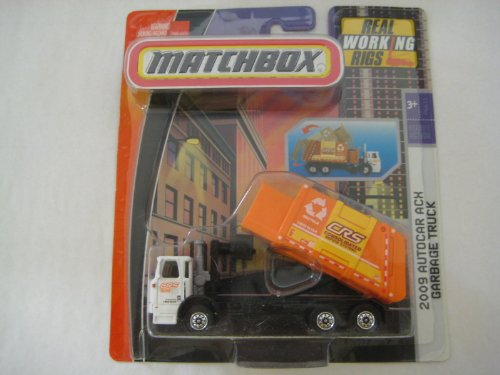 garbage truck with side loader - 8