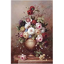 Funnybox Peony flower-Celestial Beauty, the king of flowers-Painting wooden Jigsaw Puzzles for Teens and Family (1000 Piece)