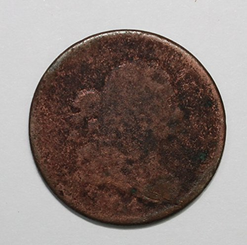 1804 Draped Bust Half Cent 1c Highly Circulated