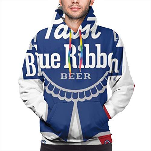 Pabst Blue Ribbon Beer Logo Men