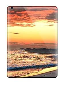 LarryJames Ipad Air Well-designed Hard Case Cover Beach Desktop S1 Protector