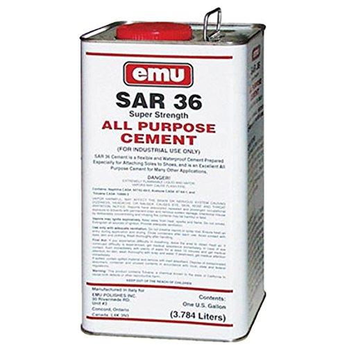 Sar 36 All Purpose Cement 1 Gal. Multipurpose Adhesive Super Strength by Emu