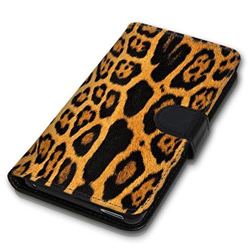 Wallet Book Style Flip Handy Tasche Case Schutz Hülle Schale Motiv Etui für Apple iPhone 6 Plus / 6S Plus - Design Flip MVD316