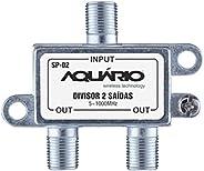 Divisor Splitter 2 Saidas Aquario SP-02 5/ 1000MHZ 15DB