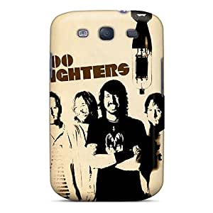 ErleneRobinson Samsung Galaxy S3 Protective Hard Phone Covers Support Personal Customs Trendy Foo Fighters Pictures [MUq17791Lgml]