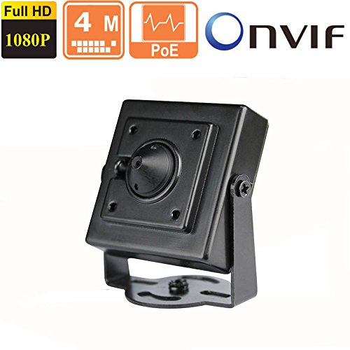 Orangesecurity 4MP HD POE Pinhole Hidden IP Camera ONVIF 2.4 3.7mm Fixed Lens ()
