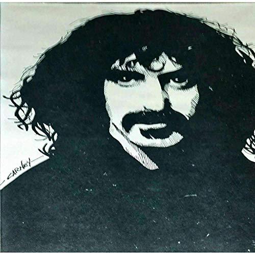 (Patrick Carney Portrait Frank Zappa Stone Lithograph)