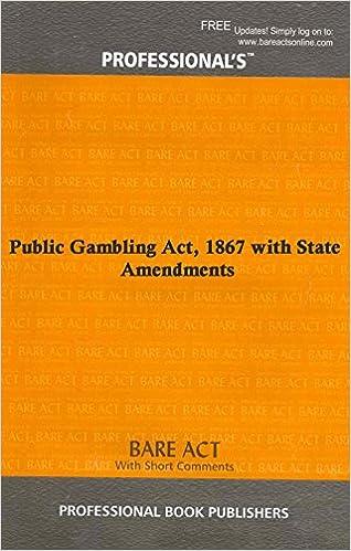 Public gambling act 1867 casino video keno machines