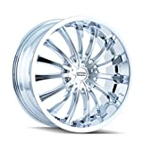 DIP D50 Wheel with Chrome Finish (18x7.5