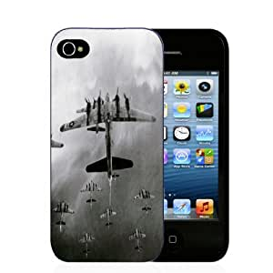 Planes of Ww II - iPhone 4/4s Black Case by mcsharks