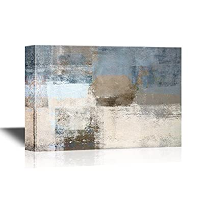 Abstract Grunge Blue and Grey Color Composition, Professional Creation, Delightful Style