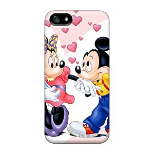 Great Hard For SamSung Galaxy S4 Phone Case Cover With Allow Personal Design Fashion Mickey And Minnie Skin KellyLast