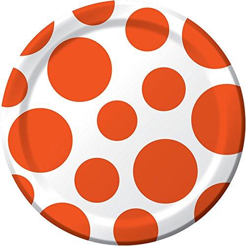 Orange Dessert Plates Creative Converting product image