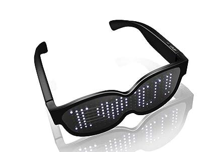 Amazon.com: SUNSEATON - Gafas LED para fiestas (iluminación ...