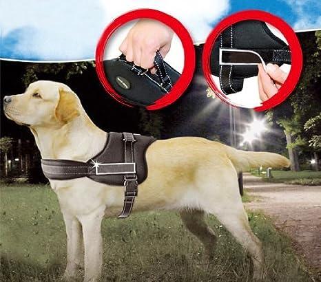 Namsan Servicio Chaleco de Perro Guía arnés del perro negro ...