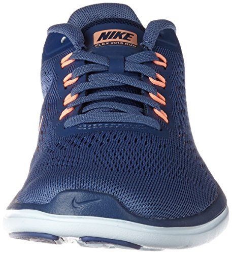 Nike Dames Flex 2016 Rn Loopschoenen Blue Moon / Sunset Glow / Coastal Blue