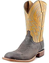 Lucchese Mens Handcrafted 1883 Alan Smooth Cowboy Boot Square Toe - M2662