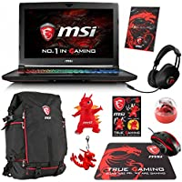 MSI GT62VR DOMINATOR PRO-239 (i7-7700HQ, 16GB DDR4 2400MHz , 128GB SATA SSD + 1TB HDD, NVIDIA GTX 1070 8GB, 15.6 Full HD, G-Sync, Windows 10) VR Ready Gaming Notebook