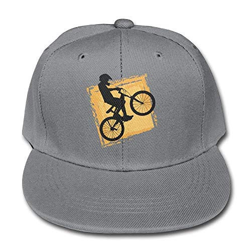 D-Cute Solid Color Baseball Caps Bicycle Rider Speed BMX for Boy-Girl Adjustable -