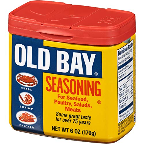 OLD BAY Seasoning, 6 oz (Seafood Bay Seasoning)
