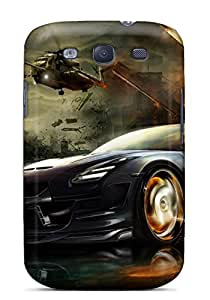 Galaxy S3 Case, Premium Protective Case With Awesome Look - Nissan Gtr Race