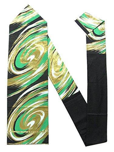 エンディングマネージャー資本リサイクル 名古屋帯 川島織物 渦文 正絹