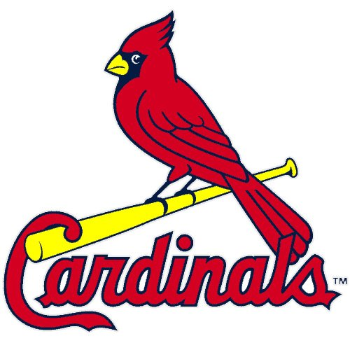 Rico MLB St. Louis Cardinals Small Static (St Louis Cardinals Decal)