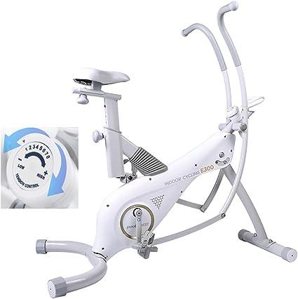 HECHEN Bicicleta Estática, máquina elíptica de Ajuste de Resistencia de 8 velocidades con Control magnético 2 en 1 para el hogar - Equipo de Gimnasio con Pedal silencioso para Interiores: Amazon.es: Deportes