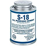 S-18 Neoprene Cement All Purpose 16 oz Pint Can