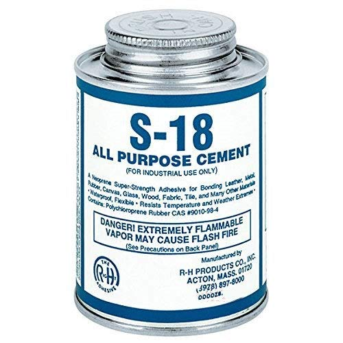 - S-18 Neoprene Cement All Purpose 16 oz Pint Can