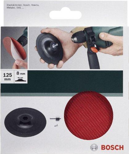 bosch 2609256280 plateau de pon age pour perceuse syst me auto agrippant 125 mm top bricolage. Black Bedroom Furniture Sets. Home Design Ideas