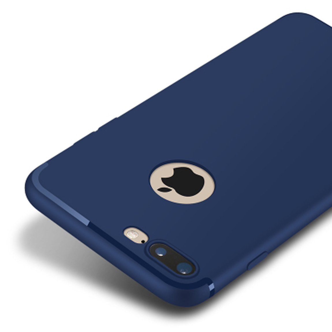 Grind Arenaceous Case For Iphone 7 Plus-[BBY@] Blue
