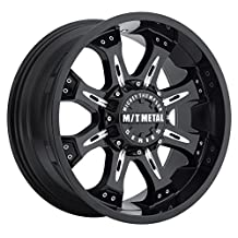 "Mickey Thompson M/T Metal Series MM-164B Piano Black Wheel with Milled Accents (18x9""/8x170mm)"
