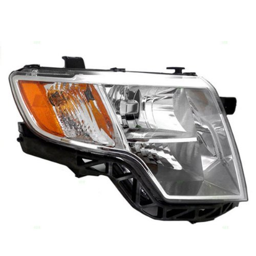 Koolzap For 07-10 Edge Headlight Headlamp Chrome Bezel Head Light Lamp Right Passenger Side