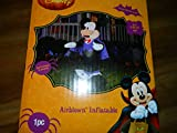 Disney Vampire Mickey Airblown Lighted Inflatable - 5 ft