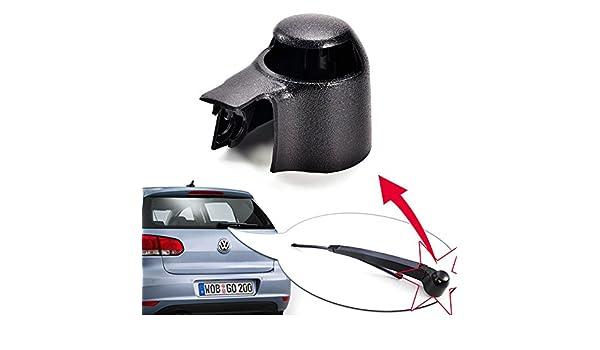 2 pcs Negro Parabrisas Limpiaparabrisas Cap caliente tapa de brazo y escobilla para limpiaparabrisas trasero Arandela: Amazon.es: Coche y moto