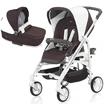 Amazon.com : Inglesina - Trilogy Stroller with Bassinet - Caffe : Baby