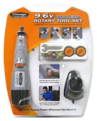 Chicago Power Tools 7.2-Volt Lithium Ion Rotary Tool
