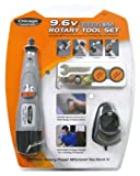 Chicago Power Tools 63524 9.6-Volt Cordless Rotary Tool Set
