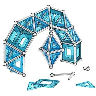 Geomag Pro-L Kit – 174 Piece Magnetic Construction Set: Toys & Games