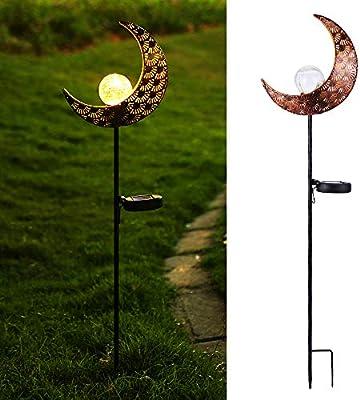 Lámpara Solar para Jardín, Infankey Luz Solar Jardín, IP65 ...