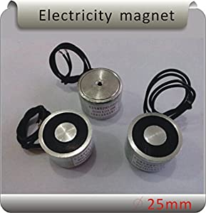 ZYE1-P25/20 5KG(50N) Electric Lifting Magnet Electromagnet Solenoid Lift Holding Waterproof